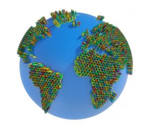 Erde - Weltbevlkerung